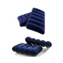 M.Mart Travel Air Pillow Blue