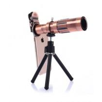 M.Mart Universal Clip 20X Zoom Mobile Lens With Mini Tripod