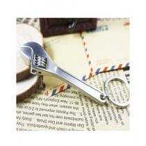 M.Mart Wrench Spanner Key Chain Silver