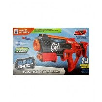M Toys 2 In 1 Super Shoot Water Bullets Gun Toy for Kids