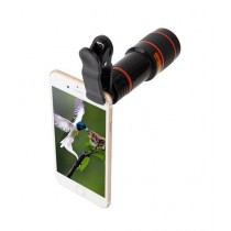 M.Mart 12X Mobile Clip Lens Black