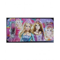 M Toys 3D Barbie Pencil Box With Accessories For Kids