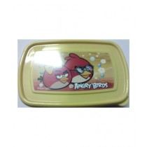 M Toys Angry Birds Lunch Box For Kids Yellow