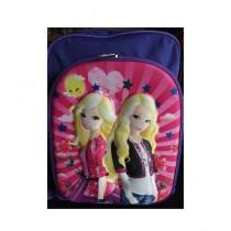 M Toys Anna & Elsa 3D-Cartoon Character School Bag (0150)