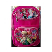 M Toys Anna & Elsa 3D-Cartoon Character School Bag For Montessori (0672)