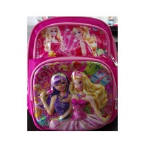 M Toys Barbie 3D-Cartoon Character School Bag For Montessori