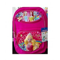 M Toys Barbie 3D-Cartoon Character School Bag For Montessori (0676)