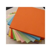 M Toys Colored A4 Paper Orange Pack Of 100 80gsm