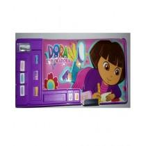 M Toys Colourful Dora Pencil Box For Kids