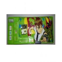 M Toys Colourful Super Ben 10 Pencil Box For Kids