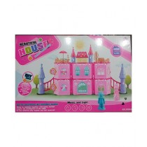 M Toys Decent Castle For Girls Pink