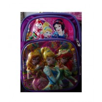M Toys Disney Princess 3D-Cartoon Character School Bag For Montessori