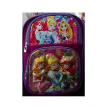 M Toys Disney Princess 3D-Cartoon Character School Bag For Montessori (0668)