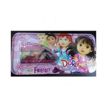 M Toys Dora Pencil Box With Accessories For Kids