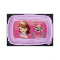 M Toys Fancy Colourful Sofia Cartoon Character Lunch Box for Kids