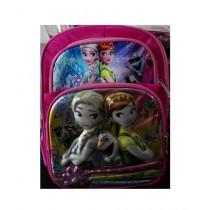 M Toys Frozen 3D-Cartoon Character School Bag For Montessori