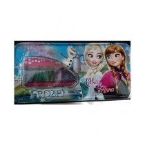 M Toys Frozen Anna & Elsa Pencil Box With Accessories For Kids