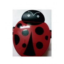 M Toys Ladybird Lunch Box For Kids Red/Black