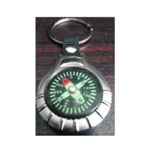 M Toys Metal Compass Keychain