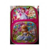 M Toys Princess Sofia 3D-Cartoon Character School Bag For Montessori
