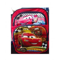 M Toys Racing Cars Cartoon School Bag for Primary Level