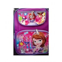 M Toys Anna and Elsa Cartoon School Bag for Primary Level