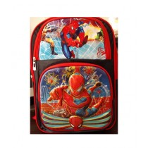 M Toys Spiderman 3D-Cartoon Character School Bag For Montessori