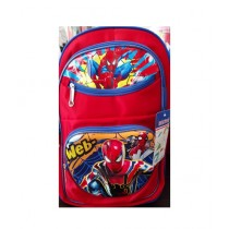 M Toys Spiderman 3D-Cartoon Character School Bag For Montessori (0673)