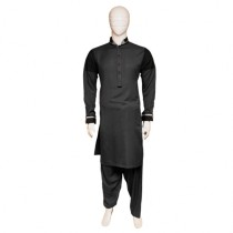 M&Y Shalwar Kameez - Dark Grey (884)