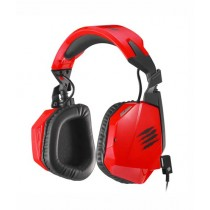 Mad Catz F.R.E.Q. 3 Stereo Over-Ear Gaming Headset Red