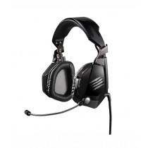 Mad Catz F.R.E.Q. 7 Surround Over-Ear Gaming Headset Matte Black