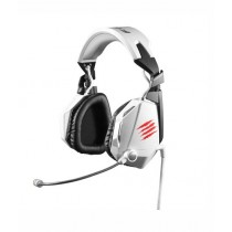 Mad Catz F.R.E.Q. 7 Surround Over-Ear Gaming Headset White