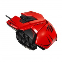 Mad Catz M.M.O. TE Gaming Mouse for PC Red