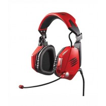 Mad Catz F.R.E.Q. 7 Surround Over-Ear Gaming Headset Red