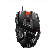 Mad Catz M.M.O. TE Gaming Mouse for PC Gloss Black