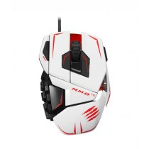 Mad Catz M.M.O. TE Gaming Mouse for PC White
