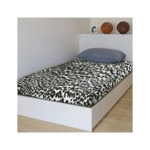 Maguari Mattress Fitted Cheetah Printed Single Bed Sheet (0454)