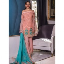 Mahrukh Luxury Chiffon Embroidered Collection Vol-2 3 Piece (MCV2-11)