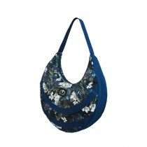 Maiyaan Floral Hand Bag For Women Blue