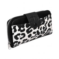 Maiyaan Leopard Leather Clutch Bag For Women