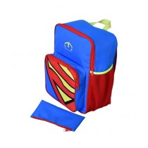 Maiyaan Superman School Bag For Kids