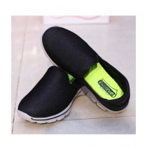 MM Mart Casual Shoes For Unisex Black (1345)