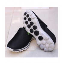 MM Mart Casual Shoes For Unisex Black (1351)