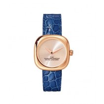 Marc Jacobs The Cushion Women's Watch Blue (MJ0120179306)