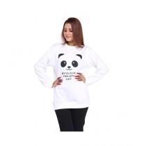 Marck And Jack Being Panda Love Sweatshirt For Women (M&J-DW2)