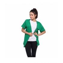 Marck And Jack Bohemian Kimono For Women Green (MJ106)