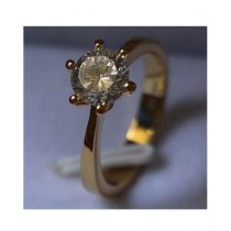 Marck And Jack Gold Plated Zircon Ring (MJR1)