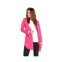 Marck And Jack Korean Cardigan For Women Pink (M&J-DW22)
