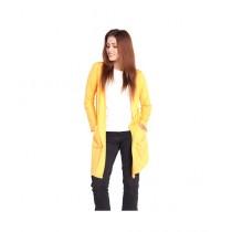 Marck And Jack Korean Cardigan For Women Yellow (M&J-DW23)