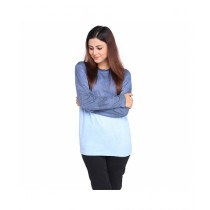 Marck And Jack Ombre Dye T-Shirt For Women Blue (M&J-Wp6)